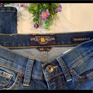 Lucky Brand Charlie baby bootcut jeans